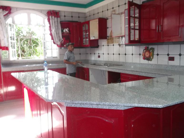 marmol para cocina